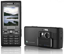 ORIGINAL Sony Ericsson Cyber-shot K800i Black 100% UNLOCKED Cell Phone K800 3G