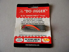 The Do-Jigger by the Swedish Pimple People- Fishing Jig 1/6oz  - Orange/Chrome