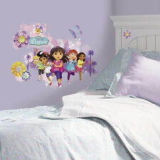 New Giant GROWN UP DORA AND FRIENDS WALL DECALS Girls Bedroom Stickers Decor