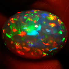 10.90 ct 20x15mm EXTRA FINE PINFIRE SPARKLEES  EXCELLENT COLOR PLAY! SOLID OPAL