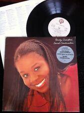 Randy Crawford - Sweet Combination Vinyl LP Lyric Inner Sleeve Warner Bros (1981