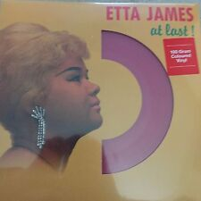 ETTA JAMES - AT LAST ! LP -Reissue pressed on Red 180 Vinyl - NEW AND SEALED