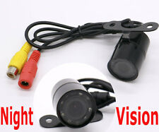170° Color CCD Reverse Backup Car Front Rear View Camera IP68 LED Night Vision
