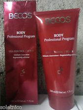 BECOS CELL CONTROL TONIC SCRUB BODY EXFOLIATING RENEWER 200 ml. a MILAN