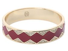 House of Harlow 1960 Nicole Richie Pave CZ Sunburst Cuff  Bracelet Bangle