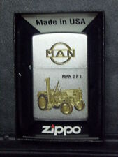 Zippo Sturmfeuerzeug MAN Trecker 2 F1 High End Gravur