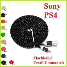 1x Micro USB Ladekabel für Sony PS4 Playstation 4 Dual Shock Controller Cable 3m
