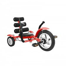 MOBO Cruiser Mini Recumbent bicycle Children tricycle - recumbent bicycle Red