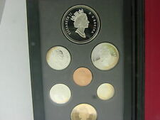CANADA 1996 PROOF SET DOUBLE DOLLAR SET W/ 7 COINS