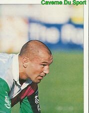 302 THIERRY LACROIX NEC HARLEQUINS 2  STICKER PREMIER DIVISION RUGBY 1998 PANINI