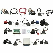 Newest Version CARPROG FULL V7.28 with 21 Items Adapters OBD2 Diagnostic HOT