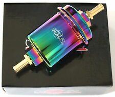 CZRRACING HIGH FLOW WASHABLE FUEL FILTER HONDA 92-01 PRELUDE CIVIC NEO CHROME