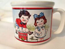 Campbells Soup Mug Cup Kids In School And At Play1998 Houston House Collectable