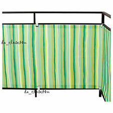 IKEA DYNING BALCONY COVER AWNING FROM SUN WIND SHIELD CANOPY SHADE Green Striped