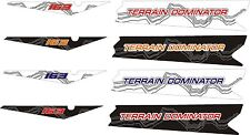 POLARIS RUSH PRO RMK terrain dominator ASSAULT 144 155 163 TUNNEL DECAL 2015 7