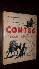 CONTES POUR ENFANTS - Marcelle Langlois 1943 - Dessins May Maxwell