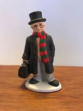 Lefton Colonial Christmas Village Figurine Doc Mitchell Vintage 1990 #07924