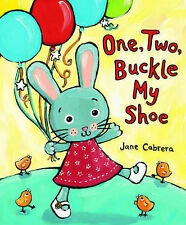 One, Two, Buckle My Shoe, Jane Cabrera, New Book