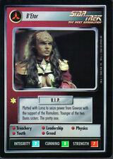 STAR TREK CCG REFLECTIONS SUPER RARE B'ETOR