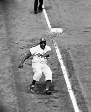 JACKIE ROBINSON 1959 WORLD SERIES GLOSSY PHOTO PICTURE