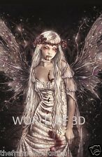 VICTORIA FRANCES OPHELIA - 3D CULT FANTASY PICTURE 300mm x 400mm