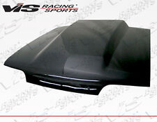 Cowl Induction Style VIS Carbon Fiber Hood For 87-93 Ford MUSTANG 2dr 87FDMUS2DC