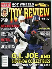 Toy Review Magazine April 2009 G.I. Joe Sideshow Collectibles EX No ML 101516jhe