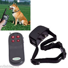 4 in 1 Electronic Remote Training Collar Vibration+Shock For Small/Med/Large Dog
