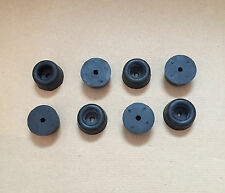 8 x Small Round Rubber Buffer Button Type Door Stop Dropside Horsebox Trailer