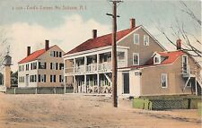 c.1910 Spencer General Store Card's Corner North Scituate RI post card