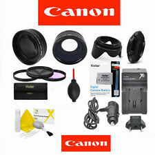 CANON EOS REBEL 7D FISHEYE LENS +ZOOM LENS + BATTERY  KIT +LPE6 LP-E6 CHARGER