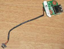 HP Pavilion dv9000 USB Platine Anschluss Jack DAAT9TB28D6 + Kabel Cable