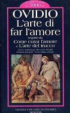 Publio Ovidio Nasone L'ARTE DI FAR L'AMORE COME CURAR L'AMORE E ARTE DEL TRUCCO