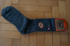 New Turkish %100 Naturel Merino Wool Men Socks Grey Colour-Warmly-Winter