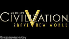 CIVILIZATION V BRAVE NEW WORLD PC/Mac (STEAM key)