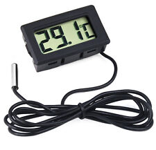 Digital LCD Thermometer for Fridges Freezers Coolers Chillers Mini 2M Probe