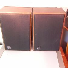 Vintage ADS Bookshelf   l10 Speakers Tested and Working  Sound Great