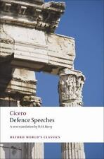 Defence Speeches (Oxford World's Classics) by Cicero