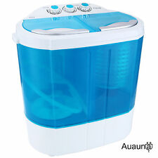 8-9lbs Mini Portable RV Dorm Compact Washing Machine Washer Spin Dryer Laundry