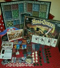 1989-90 Hero Quest Board Game System by Milton Bradley (Heroquest)100% Complete
