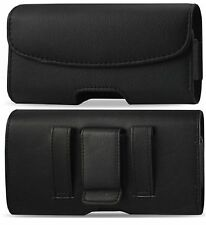 For Samsung Galaxy S7 Edge Leather belt clip loop Pouch Holster  cover case