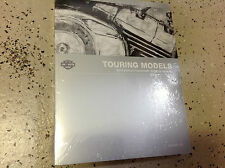 2010 Harley Davidson TOURING  Service Manual Set W Electrical + Owners  Parts Bk