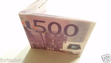 New 500 EURO ! bi-fold wallet BeNjY Wallet Mighty strong and thin US Seller