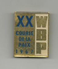 Orig.pin   XX.Course de la Paix / Peace Race 1967  -  Official Logo  !!  RARITY