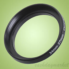 34mm to 37mm 34-37 34-37mm 34mm-37mm Stepping Step Up Filter Ring Adapter