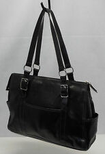 FOSSIL Black Patent Leather Hobo Shoulder Bag Purse Beautiful EXCELLENT
