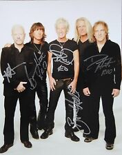 Reo Speedwagon Signed 11x14 Authentic Photo R&R LOA