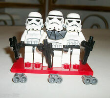 LEGO Storm Trooper 6576 Minifigure Stand Star Wars Blaster SET 10188 10212 8087
