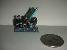 "Vintage Lead Miniature Field Soldiers - 3 Soldiers - Drummer - 3/4"" Tall - (#11)"
