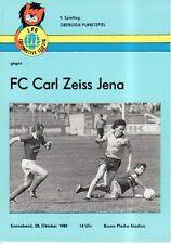 OL 89/90 1. FC Lok Leipzig - FC Carl Zeiss Jena